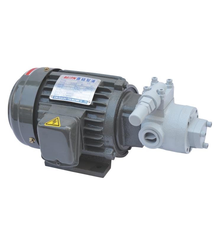 Heavy oil motor